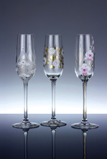Svatební sklenice Valencie