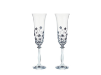 Polibek – sada svatebních skleniček