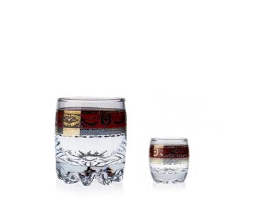 Bordó 250+50 – sada sklenic