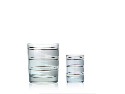 Paralela 250+50 – sada sklenic