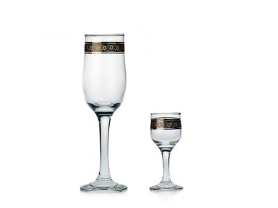 Paříž 200+50 – sada sklenic