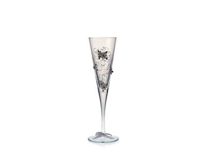 Závoj – sada svatebních skleniček